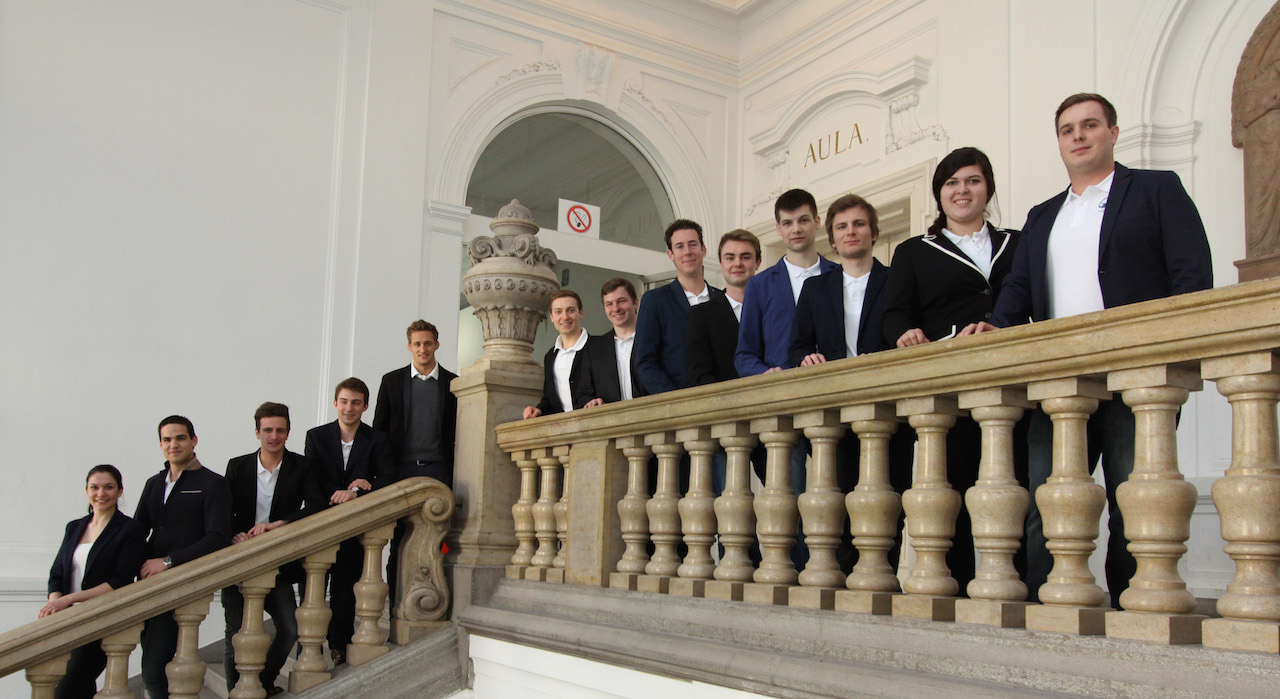 Group picture of the Board Members and Officers