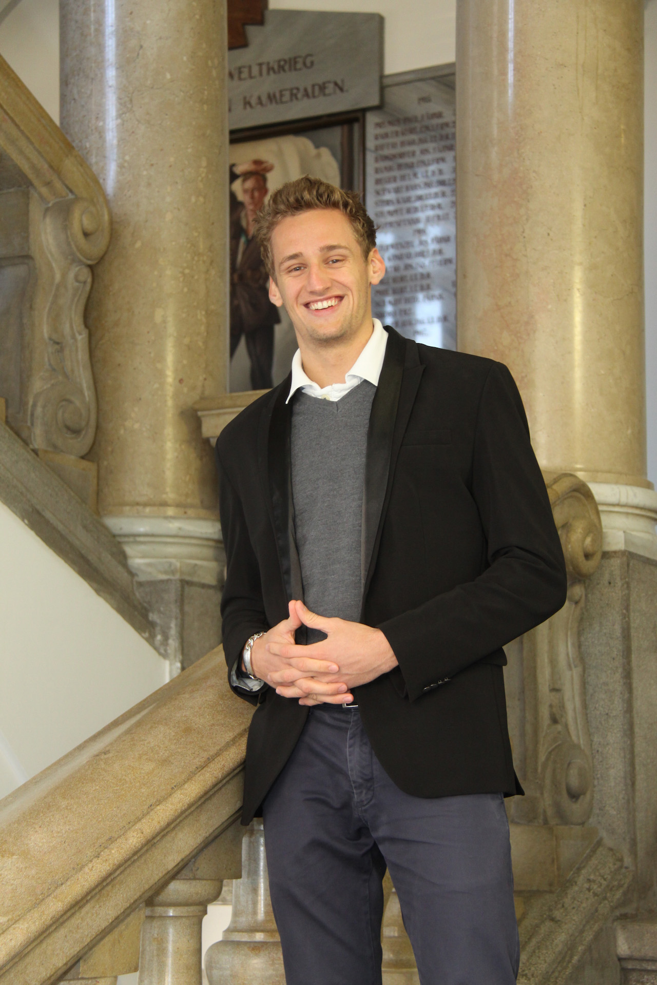 David Petutschnig - Public Relation Officer - Sponsoring Secretary