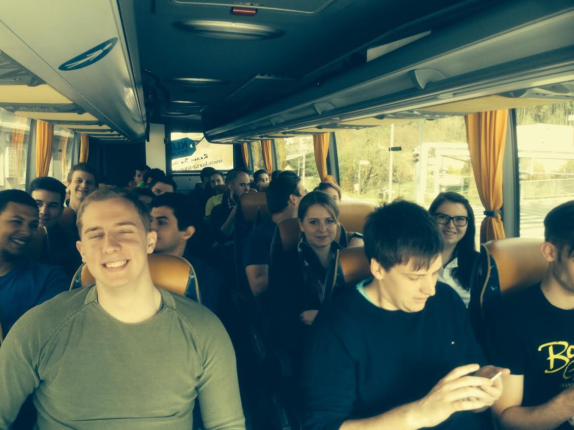 On the way to Krakow