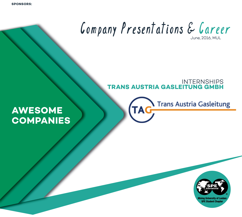 Career   Trans Austria Gasleitung GmbH